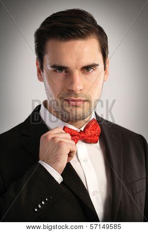 Portrait Of An Elegant Man
