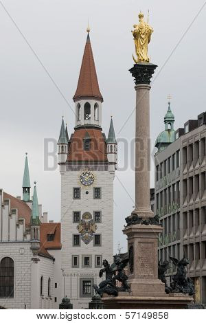 The Old Town Hall Of Munich