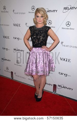 Kelly Osbourne at the 2011 Art Of Elysium