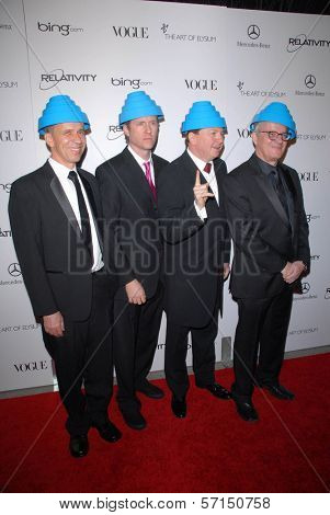Devo at the 2011 Art Of Elysium