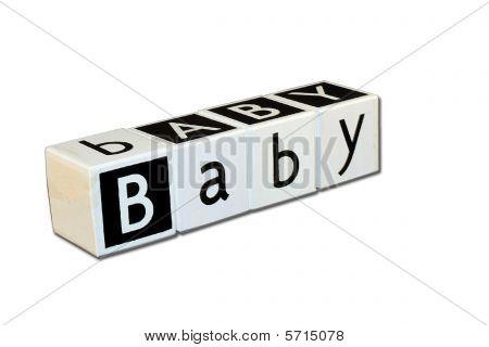 Children's Blocks - Word Baby