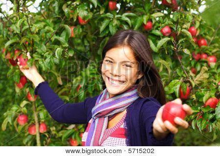 Apple Frau