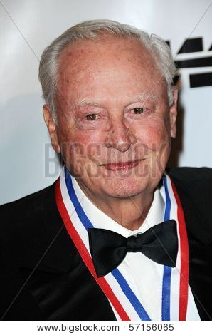 Barron Hilton at the 8th Annual Living Legends of Aviation, Beverly Hilton Hotel, Beverly Hills, CA. 01-21-11