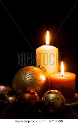 Christmas and Candles