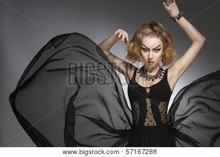 Fashion Grotesque Girl