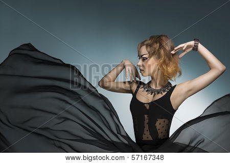 Bizarre Fashion Woman