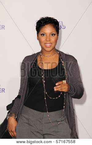 Toni Braxton at the
