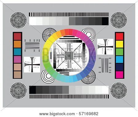 Lens Test Chart