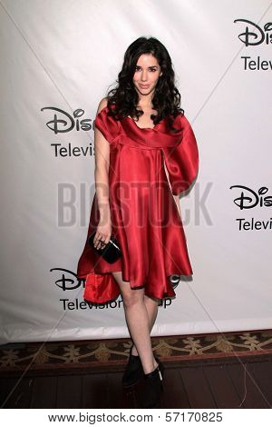 Erica Dasher at the Disney ABC