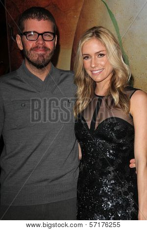 Perez Hilton, Kristin Cavallari at the