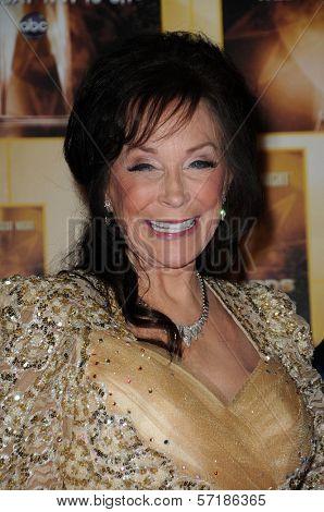 Loretta Lynn at the 44th Annual CMA Awards, Bridgestone Arena, Nashville, TN.  11-10-10