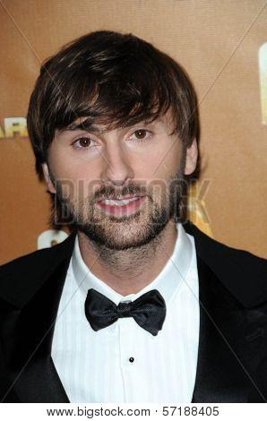 Dave Haywood  at the 44th Annual CMA Awards, Bridgestone Arena, Nashville, TN.  11-10-10