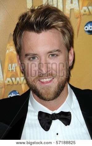 Charles Kelley at the 44th Annual CMA Awards, Bridgestone Arena, Nashville, TN.  11-10-10