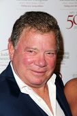 William Shatner at the St. Jude Children's Research Hospital 50th Anniversary Gala, Beverly Hilton,