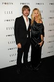 Rodger Berman and Rachel Zoe at the ELLE Women in Television party, SoHo House, West Holly, CA. 01-2
