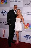Hank Baskett, Kendra Wilkinson at the NBC/Universal/Focus Features Golden Globes Party, Beverly Hilt