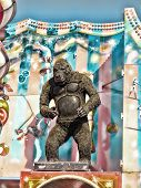 Side Show Animated Gorilla