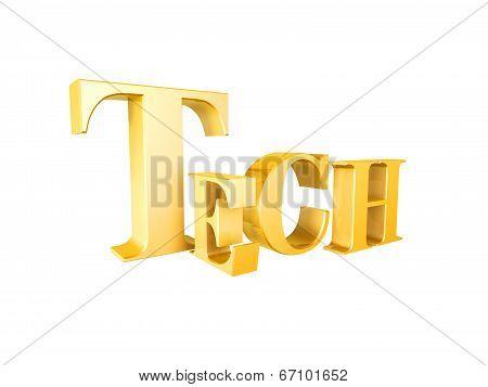 Golden Tech Symbol