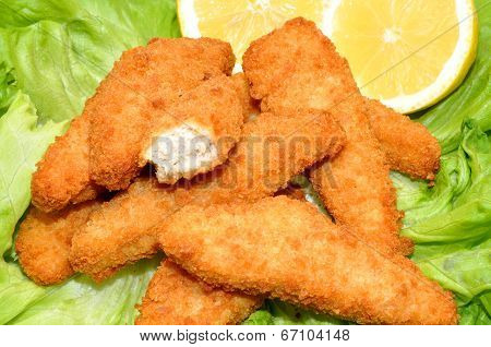 Breaded Chicken Goujons