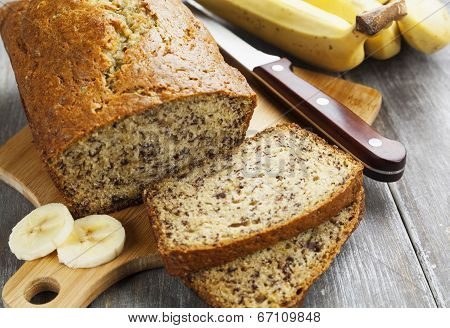Homemade Banana Cake