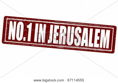No One In Jerusalem