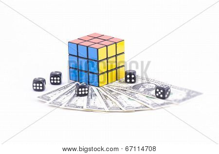 Three Colors of Rubik's cube