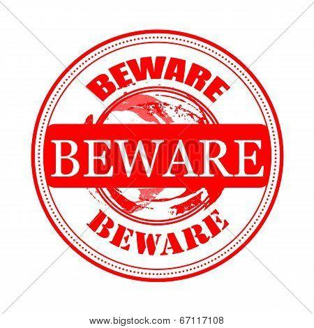 Beware Stamp