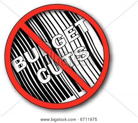 No Symbol With Barcode N No Budget Cut.