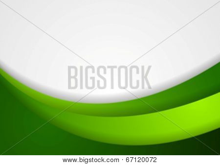 Bright abstract waves background. Vector design