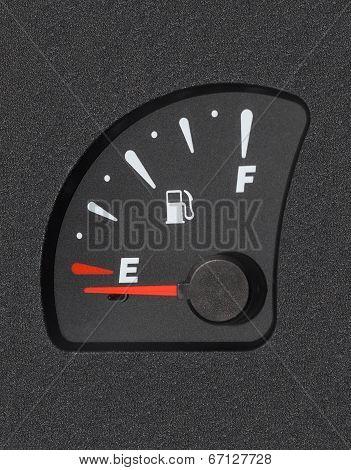 Fuel Gauge Shows Empty Tank