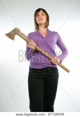 Woman With Hatchet