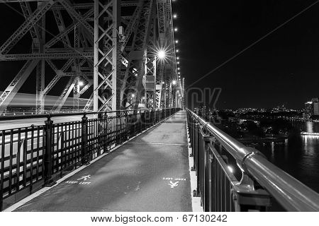 Brisbane Story Bridge architecture black and white