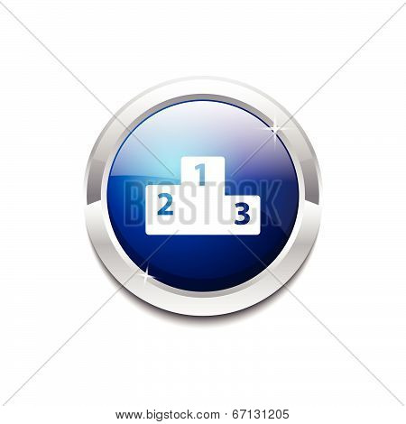 Score Board Circular Vector Blue Web Icon