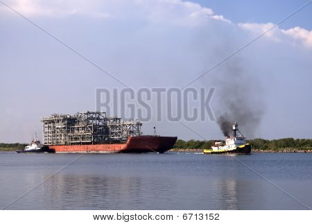 Oil Equipment Barge