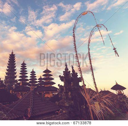 Pura Besakih temple,Bali,Indonesia