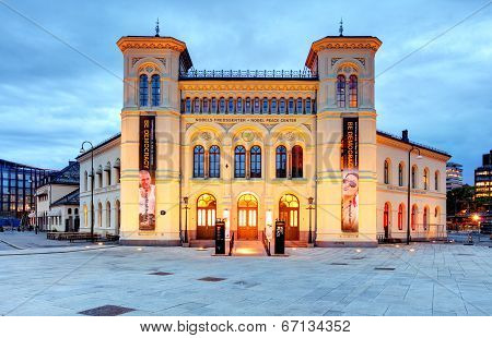 Nobel Peace Center, Oslo, Norway.