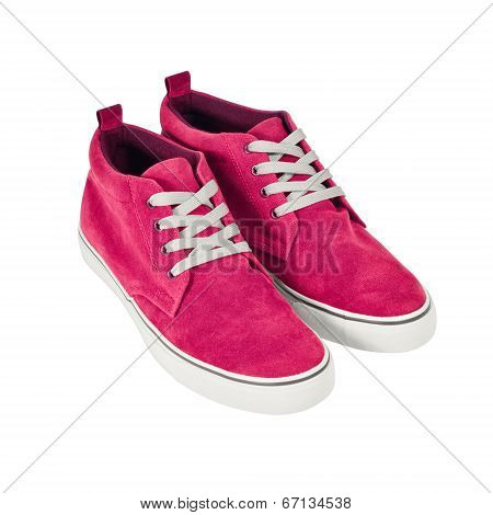 Tennis shoes Isolated With Path