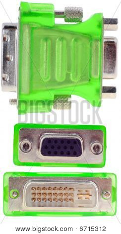 Dvi Vga Connector