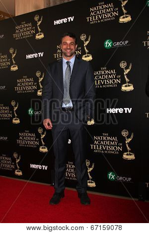LOS ANGELES - JUN 22:  Chris McKenna at the 2014 Daytime Emmy Awards Arrivals at the Beverly Hilton Hotel on June 22, 2014 in Beverly Hills, CA