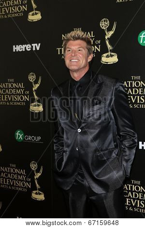 BEVERLY HILLS - JUN 22: Winsor Harmon at The 41st Annual Daytime Emmy Awards at The Beverly Hilton Hotel on June 22, 2014 in Beverly Hills, California