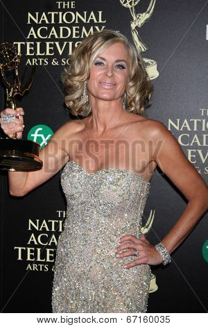 LOS ANGELES - JUN 22:  Eileen Davidson - Outstnading Lead Actress in a Drama at the 2014 Daytime Emmy Awards Press Room at the Beverly Hilton Hotel on June 22, 2014 in Beverly Hills, CA