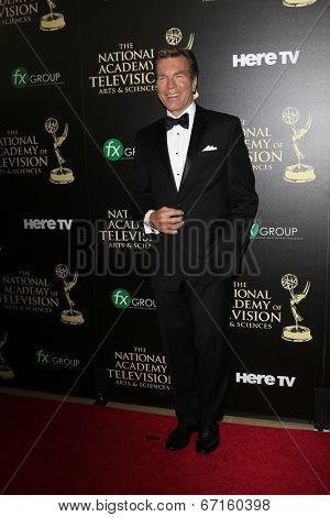 BEVERLY HILLS - JUN 22: Peter Bergman at The 41st Annual Daytime Emmy Awards at The Beverly Hilton Hotel on June 22, 2014 in Beverly Hills, California