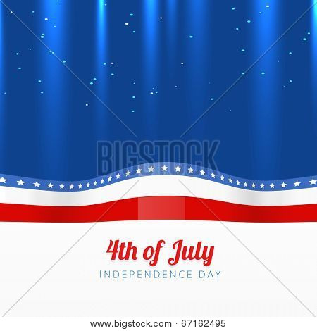 vector 4th of july stylish background