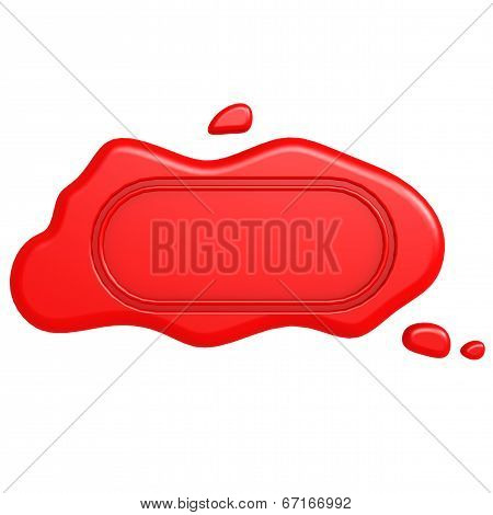 Oblong Red Seal