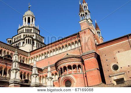 Pavia monastery, Italy