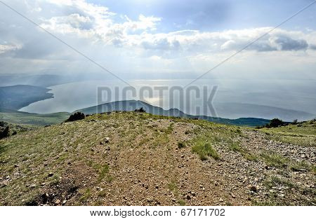 A view to lake Ohrid