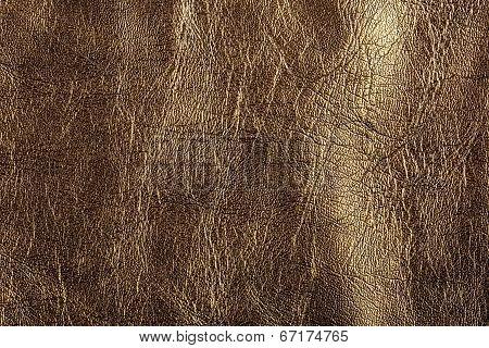 Gold leather, a background