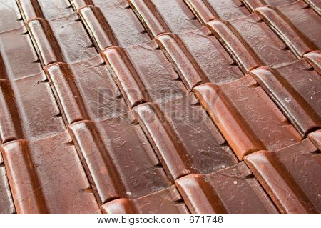 Wet Roofing Tiles