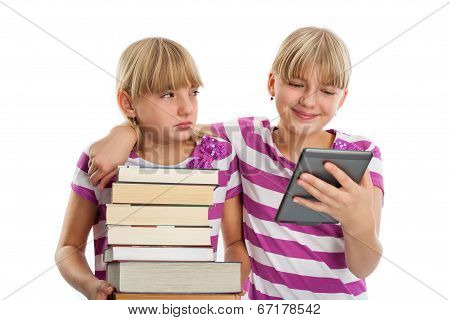 Books Vs Ebook Reader