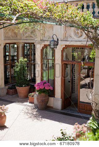 Entrance From Taormina